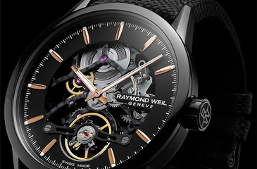 Raymond Weil – Freelancer Calibre RW1212 Skeleton