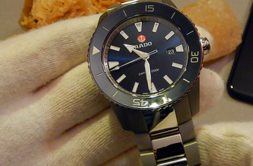 Video recenzja: RADO HyperChrome Captain Cook Automatic XL Titanium