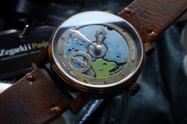 Video recenzja: Schaumburg Watch - Hand Made Unikatorium Steampunk