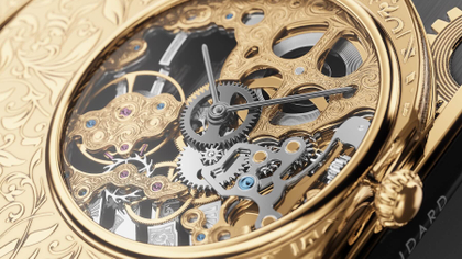 Smartfon z zegarkiem… mechanicznym? Caviar Grand Complications Skeleton Gold!