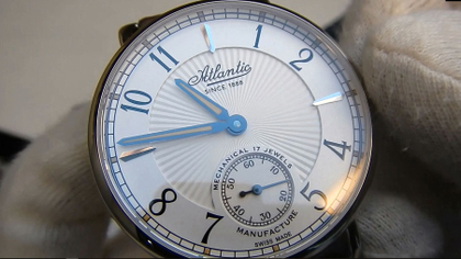 Video recenzja: Atlantic Worldmaster Manufacture Limited Edition