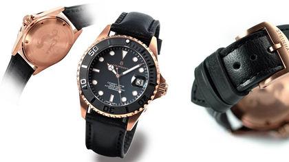 Steinhart - Ocean One 39 Automatic 300M Pink Gold