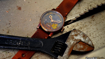 Recenzja: Schaumburg Watch - Hand Made Unikatorium Steampunk