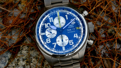 Recenzja: AVIATOR Swiss Made - Airacobra P45 Chrono Auto
