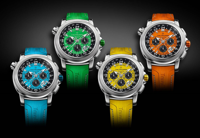 CARL F. BUCHERER - Patravi TravelTec Color Edition Four Seasons