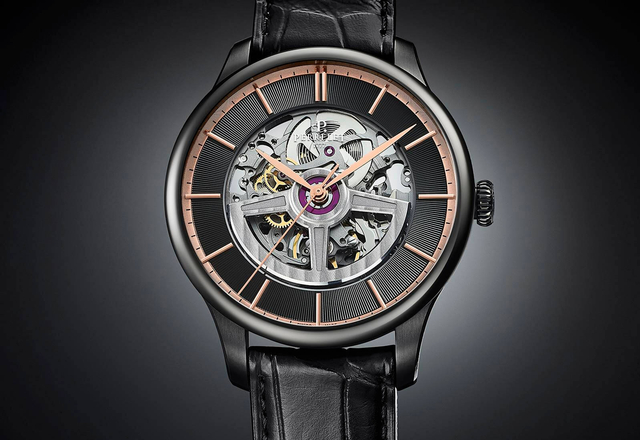 PERRELET First Class Double Rotor Black Edition