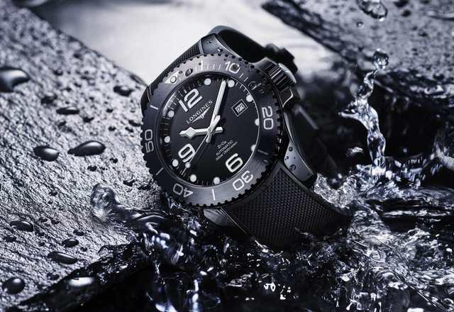LONGINES HydroConquest Full Black Ceramic Automatic