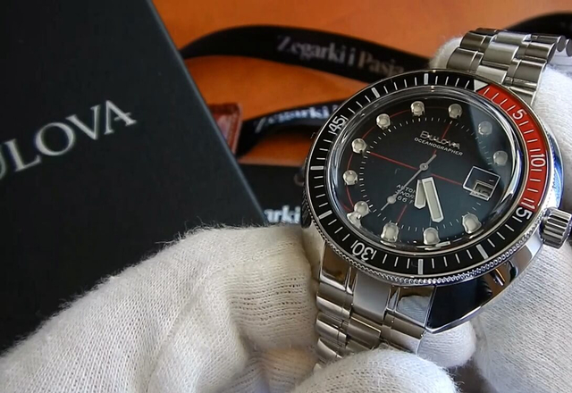 "Video recenzja: BULOVA Oceanographer Automatic ""Devil Diver"""