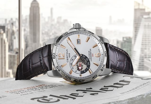 CERTINA DS Podium GMT Chronometer – czas nie zna granic