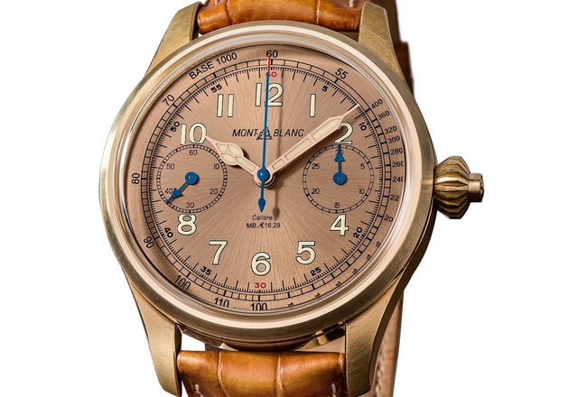 Montblanc - 1858 Chronograph Tachymeter Limited Edition 100