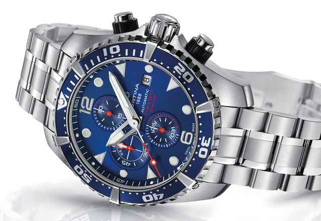 "CERTINA DS Action Diver Chronograph – prawdziwy ""diving watch"""