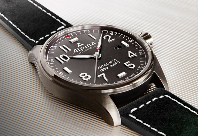 ALPINA Aviation Startimer Pilot Automatic - Baselworld 2017