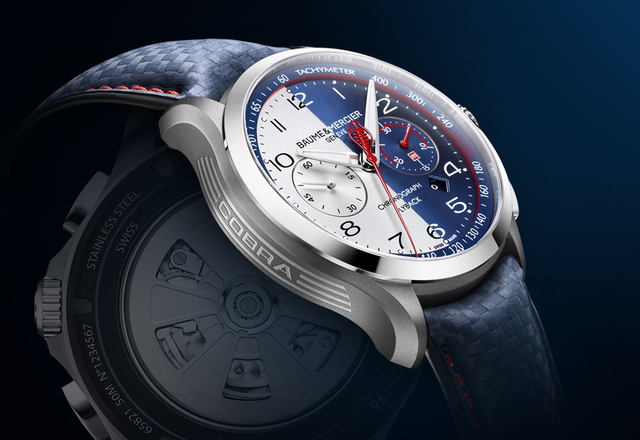 Baume & Mercier – Clifton Club Shelby© Cobra Limited Edition