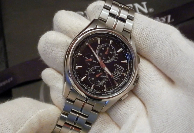 Video recenzja: CITIZEN Eco-Drive World Time Radio Controlled Super Titanium™