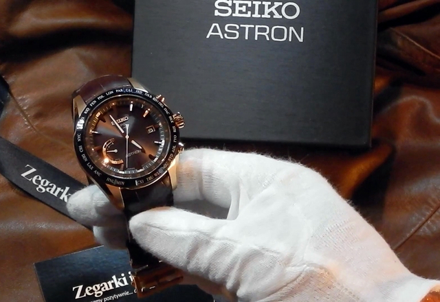 Video recenzja: Seiko ASTRON GPS Solar World Time SSE096