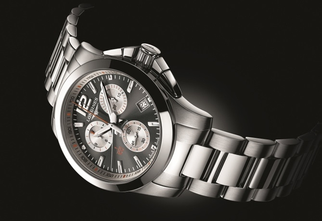 Longines Conquest 1/100th Roland Garros – zegarek French Open
