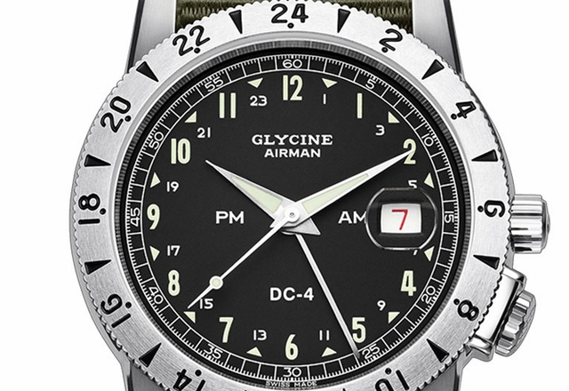 "GLYCINE model Airman ""DC-4"""