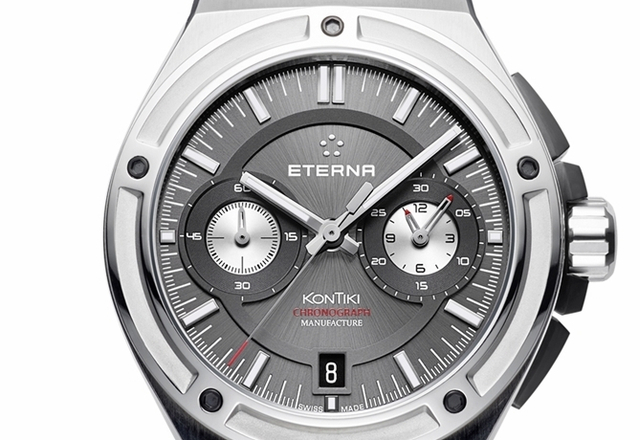 ETERNA model Royal KonTiki Chronograph Manufacture