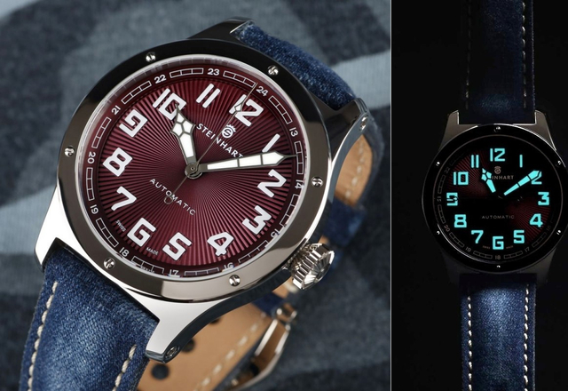 STEINHART Military 47 Automatic (red, green, blue)